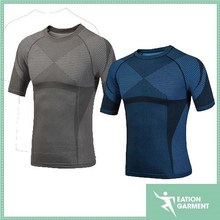 Outdoor sports bamboo charcoal Quick-drying breathable mens T-shirt