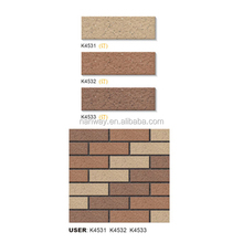 TOP quality sandstone external johnson wall tiles india 45x145mm