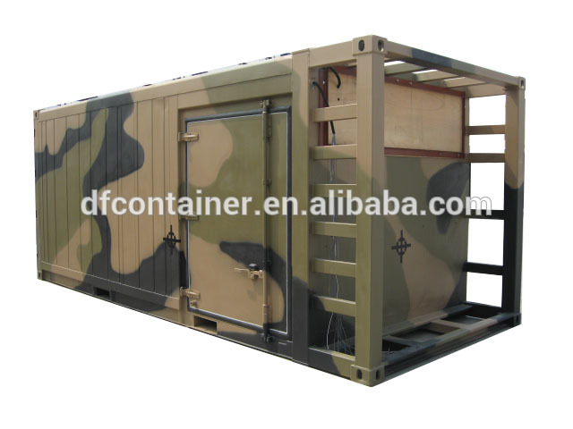 Metal strong military container for truck special container shipping container