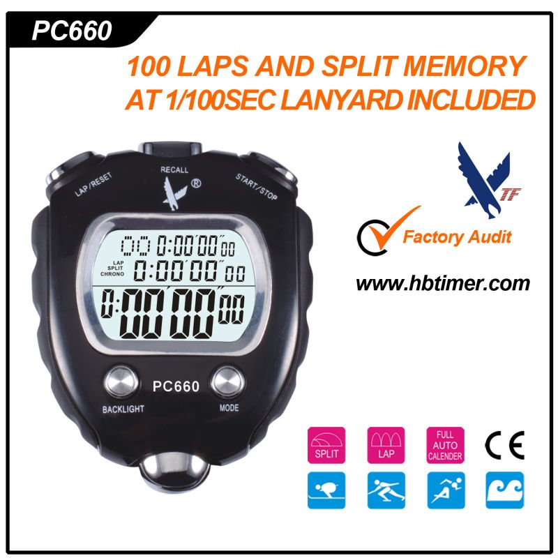 Professional Digital Sport Stopwatch Timer stopwatch countdown