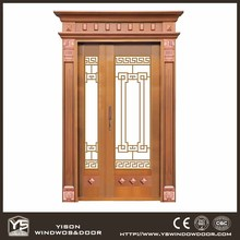 Good Quality Main Gate Design Front Door Copper Door