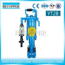 Compressed air Portable hard mining rock drilling machine for sales