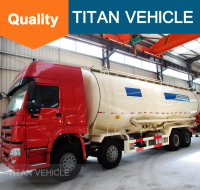 SINO TRUK chassis used 30 tons bulk cement tanker truck for cement transport