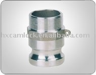 Aluminum pipe coupling PART F Male*Adapter Male Thread