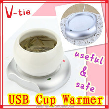 Hot gadgets lovely usb warmer for cup mug coffee cup feeding bottle