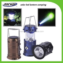 Rechargeable quality guaranteed factory directly led hanging solar lantern