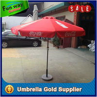 Coca Branding Cola 2.7m Round Outdoor Umbrella