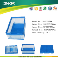 New PP Plastic Transparent Folding Storage Box For Sale