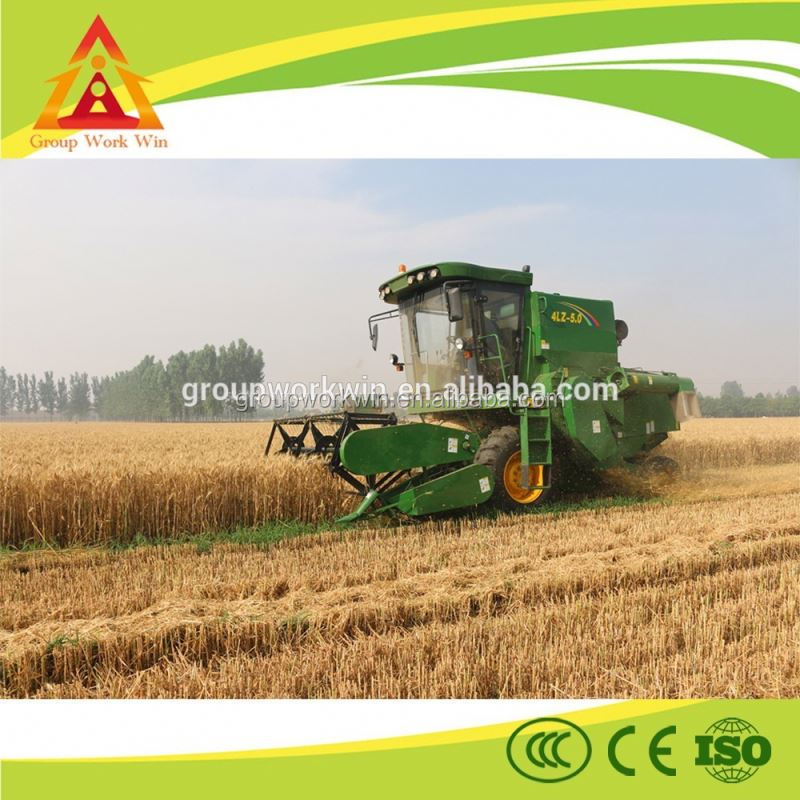 2016 high quality factory price havester self-propelled grain combine harvester