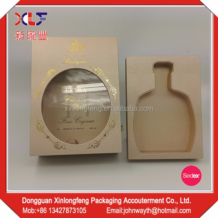 Wholesale Products China leather wooden wine box
