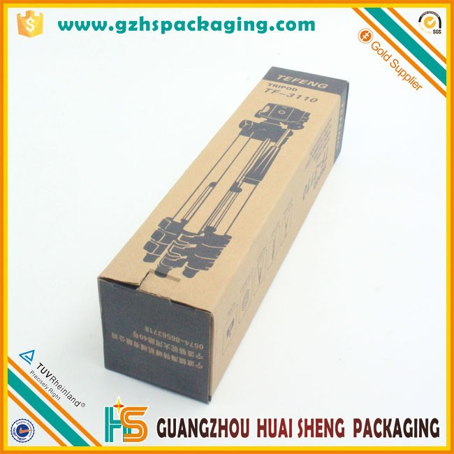 Black text printing toner cartridge corrugated box packaging box