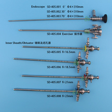 Medical rigid Cystoscopic Set, Cystoscope, Endoscope 4x302mm Cystoscopy , urology endoscopic instruments