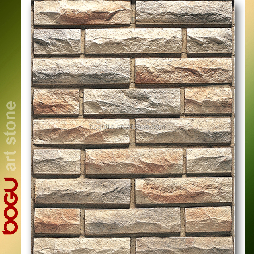 Front Elevation Ceramic Tiles : Artificial tiles front wall buy