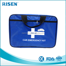 First aid Car tool bag 2 in 1 Premium Road Safety Survival Kits Auto Tools Bag /car emergency tool kit/car emergency kit