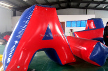 adult indoor inflatable air paintball bunker for sport games