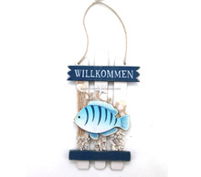 wooden nautical wall hanging decoration