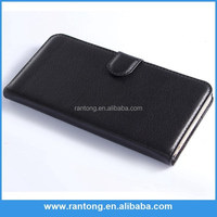 GuangDong manufacturer Classic leather with three Card slot case for samsung galaxy S5 I9600 case