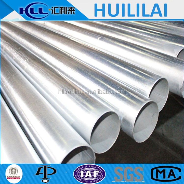 BS 1387 Q195-Q345 St37 Hot Galvanized Erw Welded Mild Steel Water Pipes