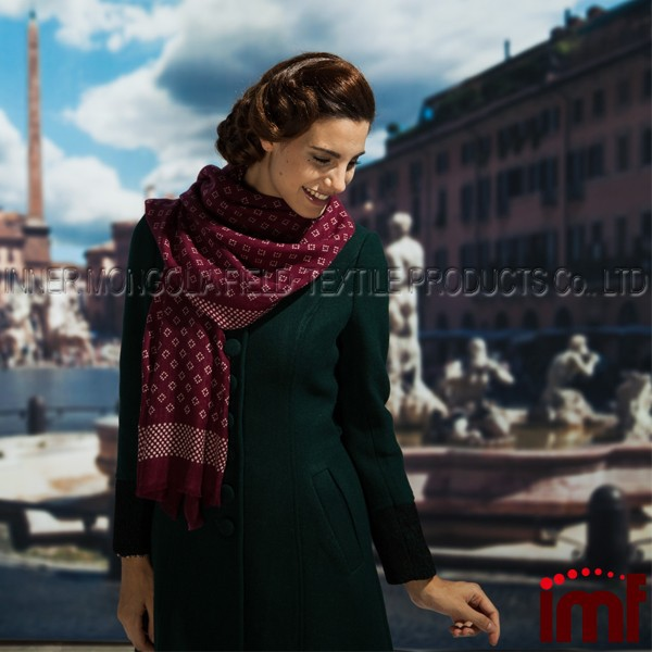 Fashion Women Merino Wool Wholesale <strong>Scarf</strong>