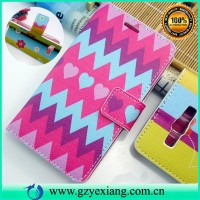 2015 newest case for samsung a3 design leather flip cover