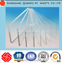 Transparent light cover 10 years warranty low price high quality greenhouse polycarbonate sheet