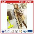 women fashion long star scarf