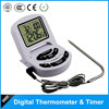 Kitchen timer digital meat thermometer with long probe