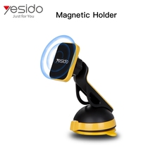 Yesido Best selling+arrival magnetic car one touch cell phone mount+360 universal car holder magnetic stand