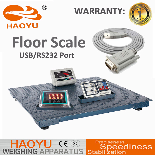 feet adjustable 1ton to 10 ton movable floor scales