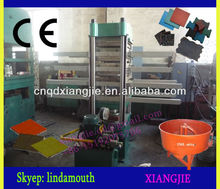 50T Rubber Tile Vulcanizing Machine/Rubber Tile Mold/Rubber Hydraulic Tile Press
