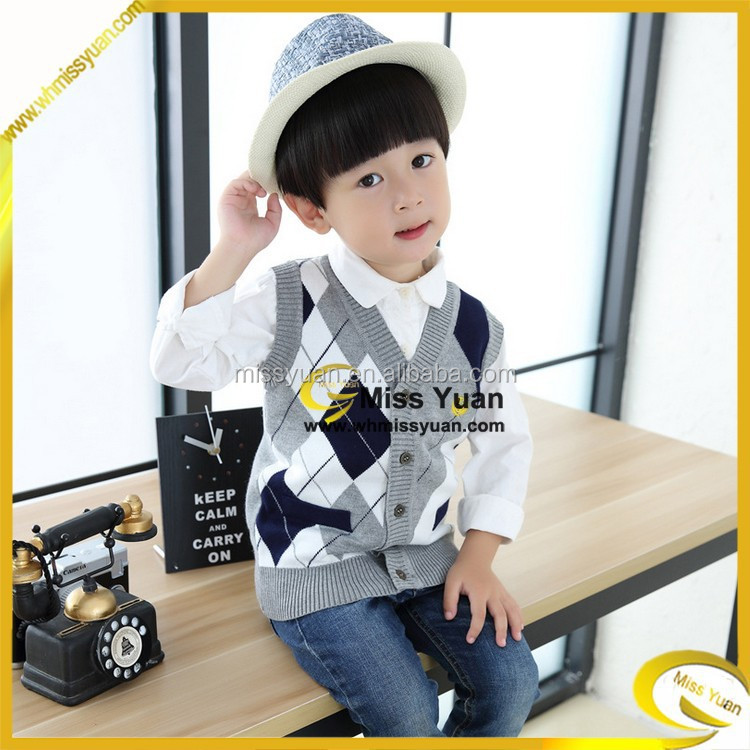 China factory Miss Yuan new fad cool childrens wear