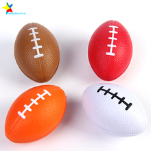 rugby pu stress ball toys promotion balls american stress football