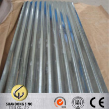 SGHC .2mm thick metal roofing zinc coated corrugated galvanized steel sheet