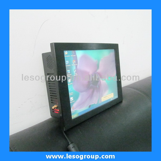 10.4 inch industrial panel pc all in one with Intel Atom CPU (onboard) N2600