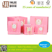 Accept Custom Order and Embossing Surface Handling gift bags paper