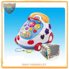 High quality music building block toys with telephone
