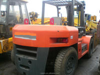 10 ton diesel forklift Japan original FD100 hot on sale