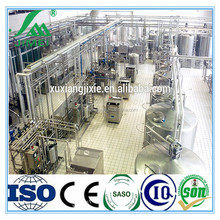 UHT pasteurized fresh dairy milk processing plant line machinery