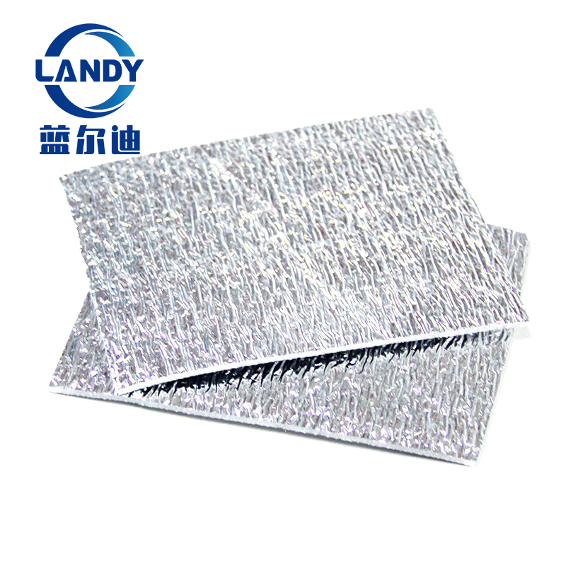 High density closed cell polyethylene epe foam heat insulation with aluminum foil,closed cell foam thermo thermal insulation