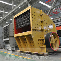 Impact crusher (european type) especially design for hard rocks