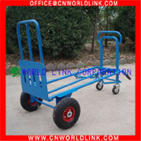 Hand Tools Two wheels Folding Steel Stair Hand Cart for Transport