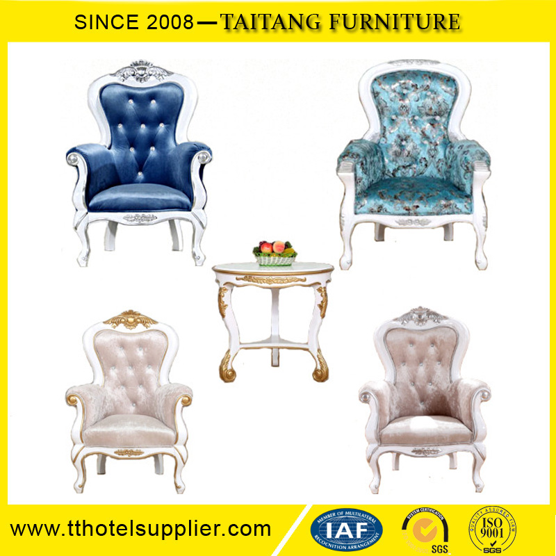 Wholesale Cheap Strong Fancy Classic King Chairs