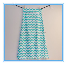 Summer Wear Girls Long Skirts Children;s Chevron Skirts For Kids