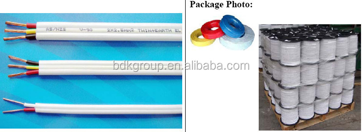 Flat Tps Cable : Electrical wire flat cable mm twin and earth
