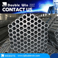 raw material galvanized rectangular hollow section steel pipe / tube with top price by China manufacturer