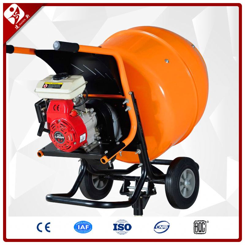 petrol engine powered movable mini type gas cement mixer for sale