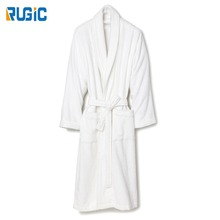 Alli Baba Com Wholesale Unisex Cotton Terry Hotel Bathrobes Towel Robe Shawl Collar Kimono Bathrobe
