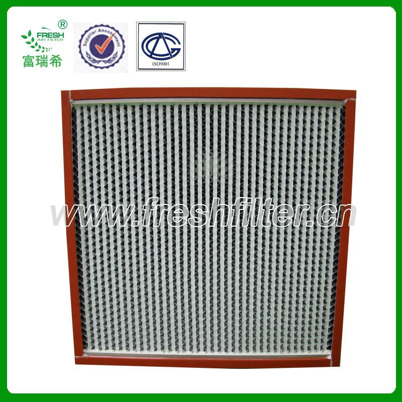 HEPA air filter for oven equipment