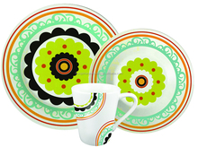 12pcs china pearl dinnerware , design your own porcelain dinnerware