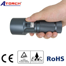 Professional Powerful underwater Mini Led Flashlight diving video light arms